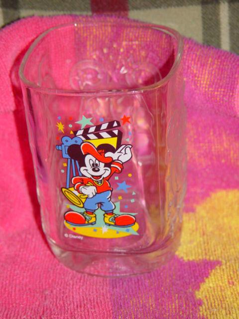 Celebration Walt Disney World 2000 Glass From McDonald's With Mickey