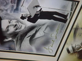 Frank Sinatra Autograph Frame Picture W/ Postcard and Stamp image 5