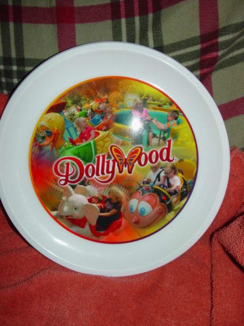 Dolly Pardon DollyWood Plastic Souvenir Plate image 3