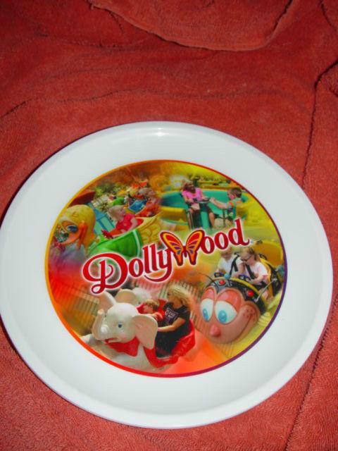 Dolly Pardon DollyWood Plastic Souvenir Plate