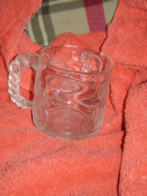 McDonald's Batman Forever Two Face 1995 Glass Cup/Mug image 2