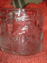 McDonald's Batman Forever Two Face 1995 Glass Cup/Mug image 1