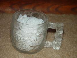 "1993 McDonald's The Flintstones Rocky Road Glass Mug 3 1/4""Tall image 9"
