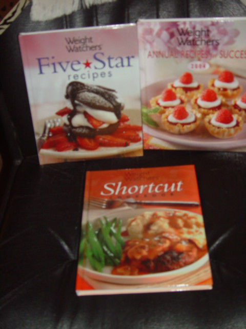 Weight Watchers Five Star Recipes, Shortcut, Annual Recipes For Success Set of 3 image 2