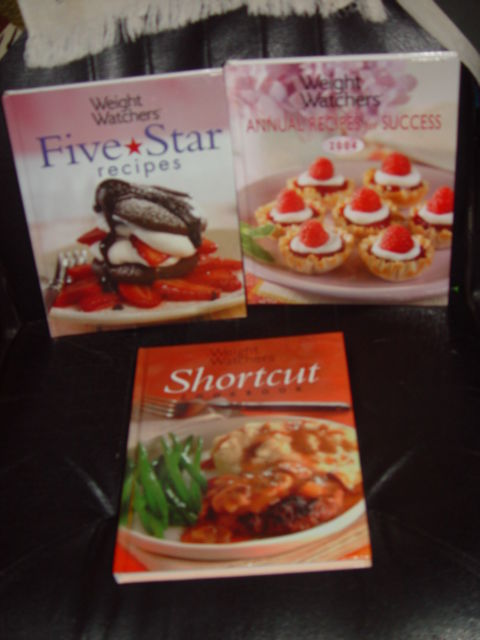 Weight Watchers Five Star Recipes, Shortcut, Annual Recipes For Success Set of 3