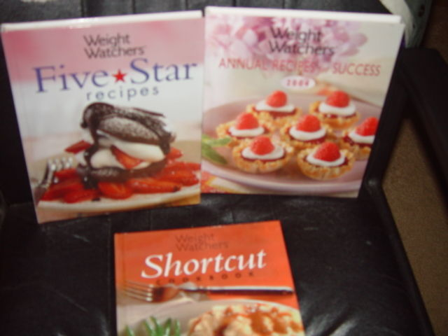 Weight Watchers Five Star Recipes, Shortcut, Annual Recipes For Success Set of 3 image 3