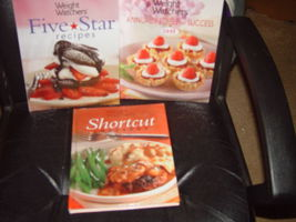 Weight Watchers Five Star Recipes, Shortcut, Annual Recipes For Success Set of 3 image 7