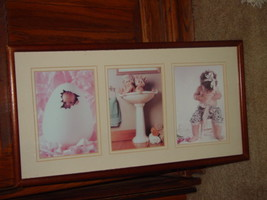 Anne Geddes Orignal Babies, Bathroom, Baby in Egg, Looking For Bellybutton image 2