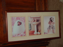 Anne Geddes Orignal Babies, Bathroom, Baby in Egg, Looking For Bellybutton image 6