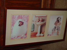 Anne Geddes Orignal Babies, Bathroom, Baby in Egg, Looking For Bellybutton image 8