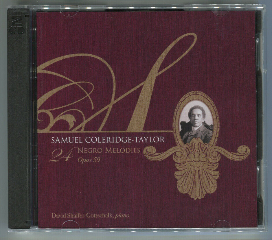 Primary image for Samuel Coleridge-Taylor: 24 Negro Melodies, Opus 59 (2-CD set, 2007)