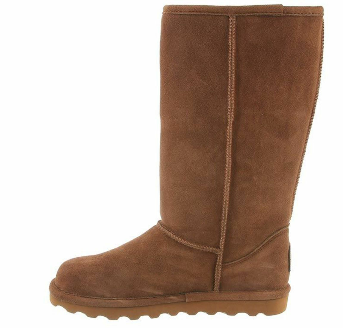 Womens Bearpaw Elle Tall Winter Boots - Hickory Suede [1963W]