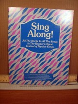 Reader's Digest Sing Along! Words to the Songs Festival of Popular Songs... - $13.49