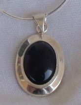 Dark brown tiger eye pendant - $33.00