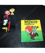 """Snoopy """"Hold That Line Charlie Brown"""" Vintage Colorforms 8 pieces - $29.99"""