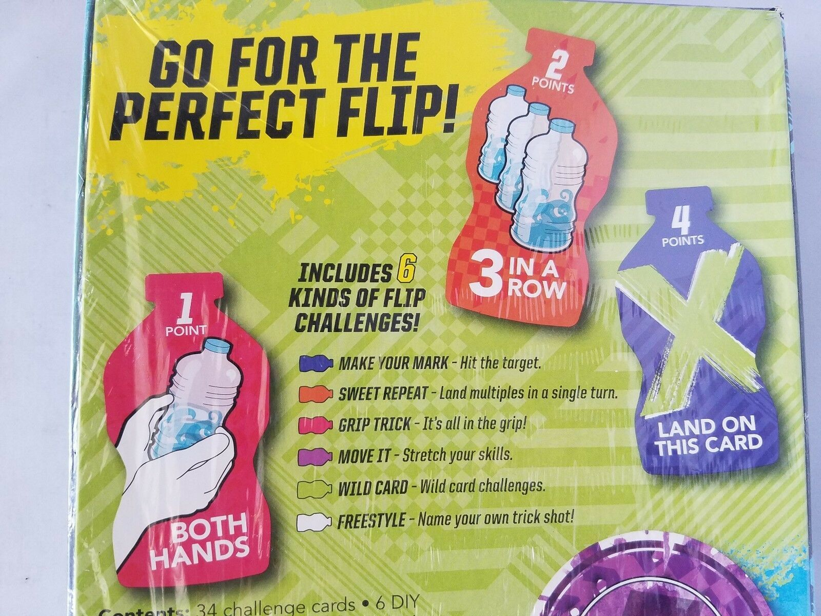 NEW Flip Challenge Game Grab A Bottle & Start Flipping! Hasbro Gaming Ages 7+ image 6