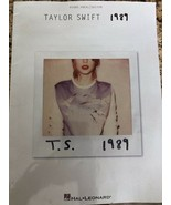 Hal Leonard Taylor Swift – 1989 Paperback Book Piano/Vocal/Guitar - $9.74