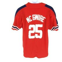 Starter Mark McGwire Cardinals Jersey Red MLB XL image 3