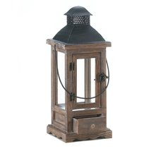 Patio Candle Lanterns, Small Hanging Lantern Candle Outdoor - Mount Vernon - $39.08