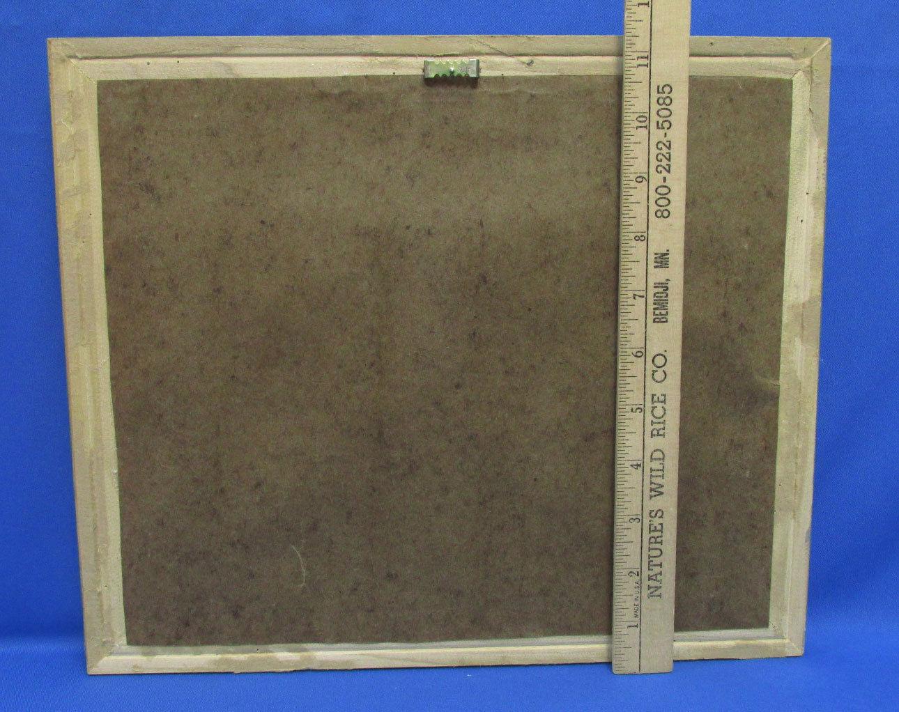 Stone Angel Framed Print Silver Tone Ornate Frame Textured Mat Elegant