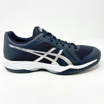 Asics Gel-Tactic Black Silver Womens Size 9.5 Volleyball Shoes B752N 9093 - $64.95