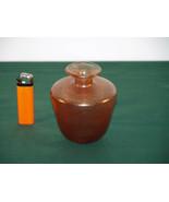 A  Modern Designer Malta Glass Vase.  - $48.00