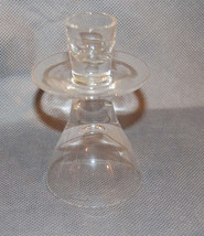 Lenox Crystal Flared Glass Candle Holder image 1
