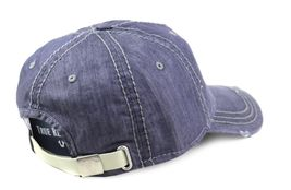 True Religion Men's Vintage Distressed Cotton Horseshoe Trucker Hat Cap TR2095 image 13
