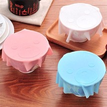 Silicone Cute Bear Shape Cooking Pot Silicone Lid Cover Dishware Silicon... - ₨1,306.06 INR