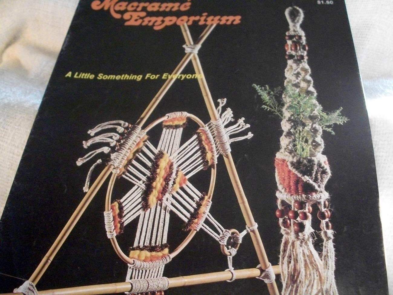 Macrame' Emporium Designs Book - $10.00