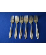Wm Rogers & Son IS Princess Aka Lady Doris Set of 6 Salad Forks - $19.80