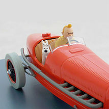 The red bolide 1/24 Voiture Tintin cars Cigars of the pharaoh  image 2