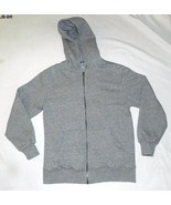 Joe Boxer Size Adult Small Heavy Weight Gray Hoodie - $16.99