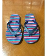 Kids Girls The Gap Comfortable Pink Sandals Flip Flops Shoes Size 12-13 - $7.81