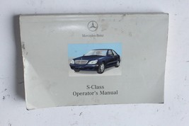 2002-2006 MERCEDES BENZ W220 S430 S CLASS OWNER'S OPERATOR MANUAL K3532 - $69.30