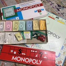 Monopoly 1961 Real Estate Trading Game Parker Brothers General Mills Board Game - $16.24