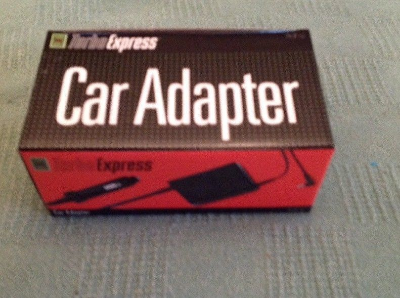 Turbo Express Car Adapter NIB