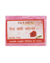 PATANJALI ROSE BODY CLEANSER SOAP BAR- 125gm  - $11.99+