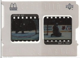 1997-98 McDonald's Upper Deck Game Film #5 Patrick Roy | HOF | Avalanche - $14.11