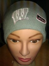 Ladies Wisconsin Reversible College Collection knit hat 1 Hat 2 Sides - ... - $14.84