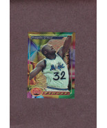 1993-94 Topps Finest # 3 Shaquille Shaq O'Neal Orlando Magic - $1.50