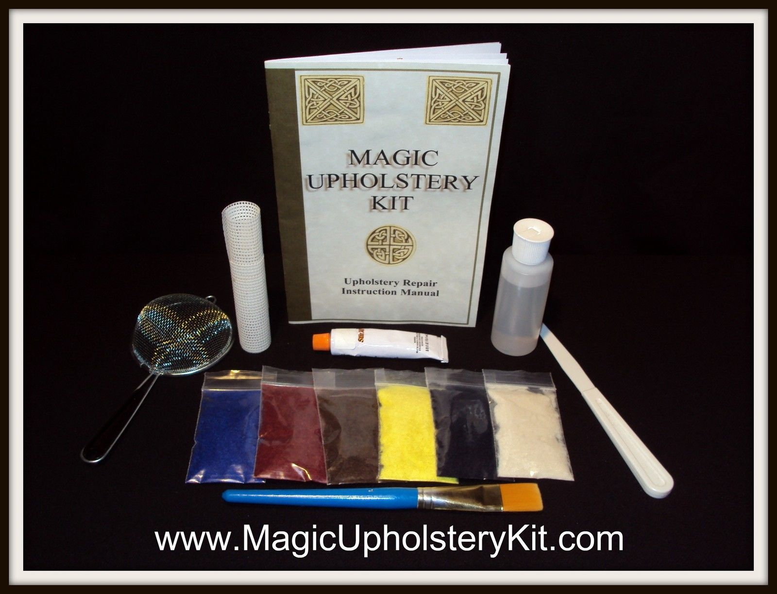 *MAGIC FABRIC MINI KIT :  Repair (Home & Auto Fabrics)
