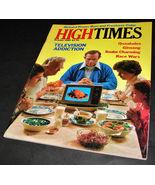 HIGH TIMES MAGAZINE Oct 1980 Richard Pryor TV Addict Kenya Quaaludes Gin... - $17.99