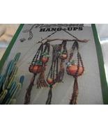 Macrame Hang Ups Craft Book - $10.00