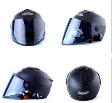 Motorcycle Half Helmet Electric Bicycle Uv Sunscreen Helmet Open Face Half  - $40.99