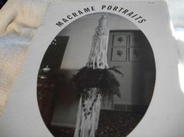 Macrame Portraits  - $5.00