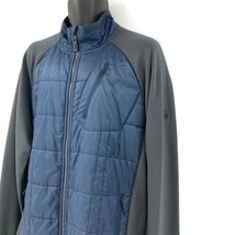 Smartwool Insulated Merino Wool Quilted Stretch Jacket Mens XL Navy Blue... - $96.57