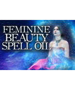 HAUNTED SPELL OIL: FEMININE BEAUTY OIL! ATTRACT THE MAN OF YOUR DREAMS! SEDUCE! - $48.99