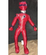 "Disney Store Power Rangers Plush Red 15"" Doll Jungle Fury P46 Poseable Toy - $16.82"