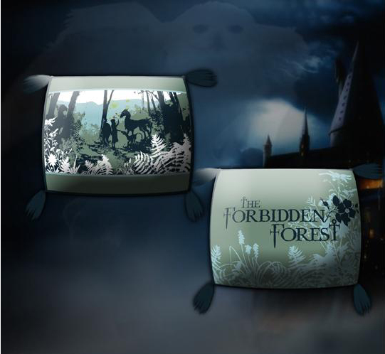 Harry Potter Forbidden Forest Pillow